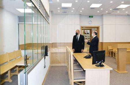 Suraxanı Rayon Məhkəməsinin yeni binası istifadəyə verildi - FOTO